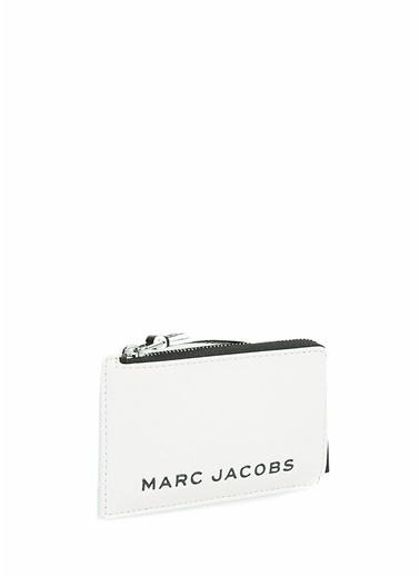 Marc Jacobs Marc Jacobs  Logolu Kadın Deri Kartlık 101620411 Beyaz